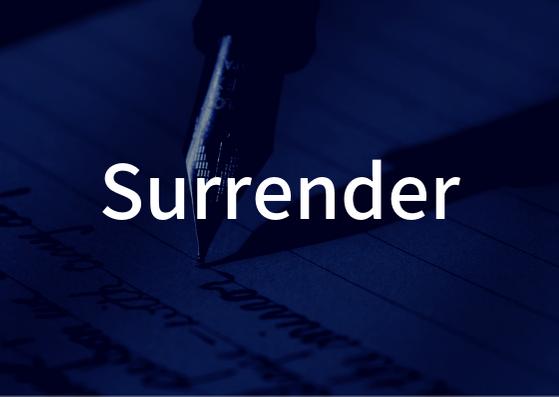 「Surrender」の歌詞学