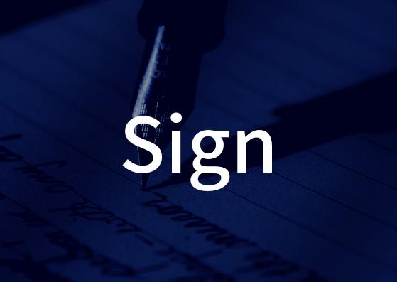 「Sign」の歌詞から学ぶ