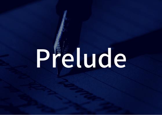 「Prelude」の歌詞から学ぶ