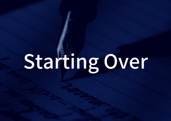 「Starting Over」の歌詞から学ぶ