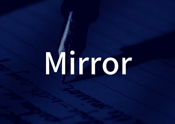 「Mirror」の歌詞から学ぶ