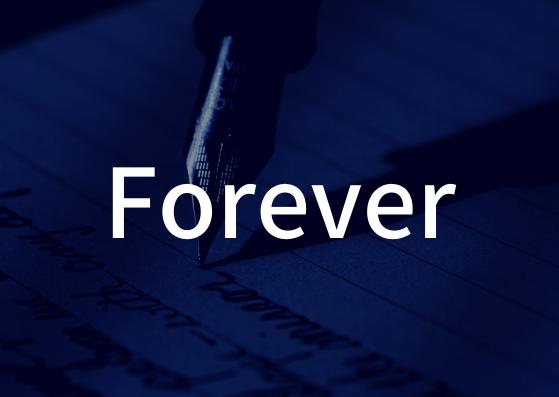 「Forever」の歌詞から学ぶ