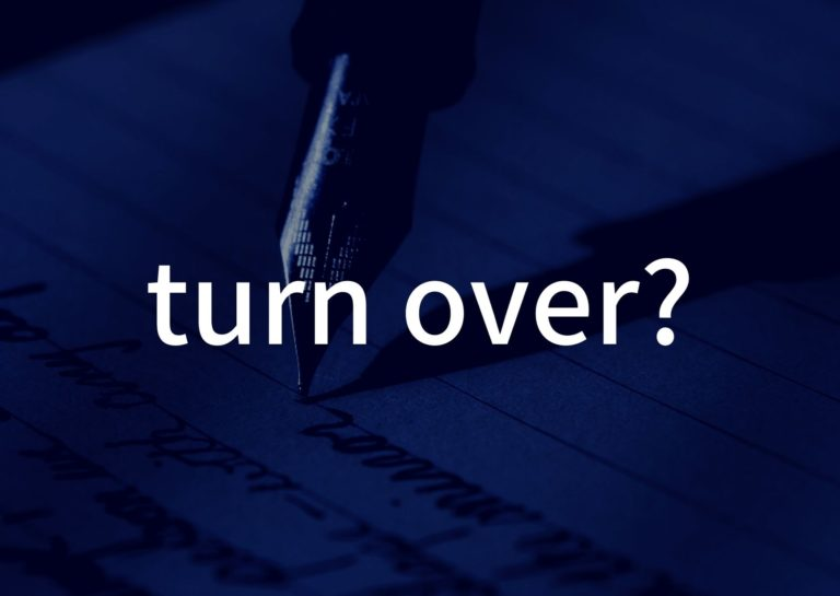 「turn over?」の歌詞から学ぶ|ミスチル歌詞から学んだこと